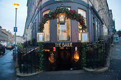 The Winner of Christmas decoration Stockbridge - The Bailie pub