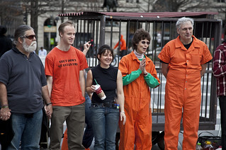 Witness Against Torture: Tim, Ananda, Helen, Martin