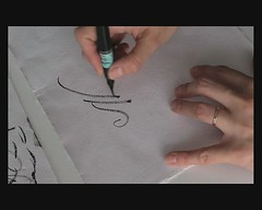 Brush pen - informal video (letrerias) Tags: brush calligraphy shodo pincel brushpen italic hechoamano moderncalligraphy japanesebrush pincelchino pinceljapons