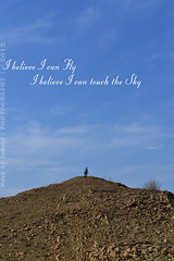 "I believe I can Fly... I believe I can touch the Sky (Noor Al-janabi ""N.J"") Tags: sky lake mountains fly hiking iraq touch believe motivation dokan sulimani"
