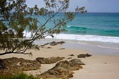 Wategos beach (Deb Jones1) Tags: ocean travel sea summer seascape beach nature sand surf waves australia places surfing explore beaches byronbay flickrduel debjones1