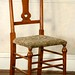209. Unusual Antique Turned Wood Chair