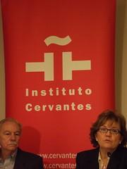 Eduardo Mendoza i Carmen Caffarel