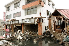 kesennuma - 5 months on (trainbuffer) Tags: japan tsunami 311 miyagi tohoku  kesennuma