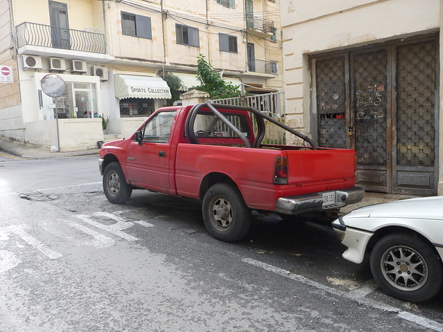 diesel cab pickup malta single isuzu