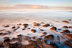 Rocks (Janneman-D90 (more OFF then on)) Tags: longexposure sea color nikon 110 nederland thenetherlands zee le nd noordholland kleur petten 1685 neutraldensity langesluitertijd nd110