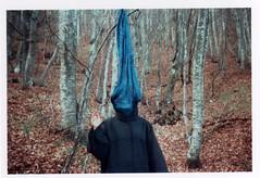 Masca 1, fagus. (108 108 108) Tags: autumn trees winter lomo experimental symbol witch experiment spirits ghosts witches smena appennino fagus monferrato masca faggi masche caldirola