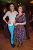 Rebecca Mir and Lena Hoschek Lena Hoschek party at Gruener Salon Mercedes-Benz Fashion Week Berlin Autumn/Winter 2012 Berlin, Germany