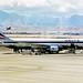 N117DL Boeing 767-332 Delta Air Lines LAS 20JAN99