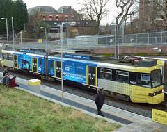 UK - Manchester tram (onewayticket) Tags: urban transport tram metrolink t68 alltypesoftransport