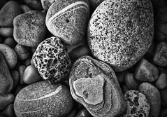 Pebbles (Andy Watkinson) Tags: white black beach pebbles pebble blackpool hdr