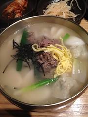 Tteok-Mandutguk (Pabo76) Tags: street new york city food st manhattan traditional year korea midtown korean miss lunar gook 32nd mandoo guk   dduk tteokmandutguk