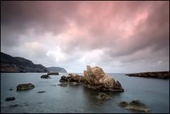 TWENTY SECONDS (Pepe Rosell) Tags: sea sky seascape clouds sunrise canon island dawn mar rocks mediterranean mediterraneo alba paisaje amanecer ibiza cielo nubes eivissa rocas islote waterscape mediterranee tamron1118 kenkond400 escaldesilla silladencalders
