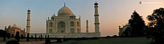 Taj Mahal Pano, Agra, india 2007 (manonthestreetdotcom) Tags: asia manonthestreet