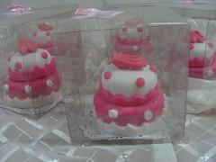 Mini-bolo para Festa de 15 anos (Cl Cestas e Bolos) Tags: minibolos