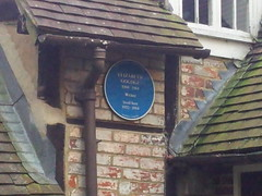 Photo of Elizabeth Goudge blue plaque