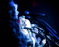 the best harmony is visual (photocillin) Tags: girls london live gig band scene sing singers microphone mic vocals
