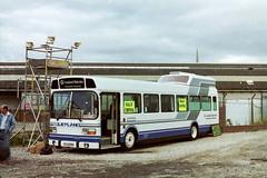 UTJ595M-01 (Ian R. Simpson) Tags: utj595m leyland national businesscommuter bus