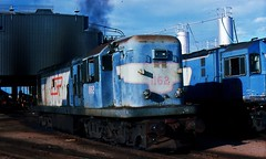 1162   at Townsville Loco' Depot (rodneygaulke) Tags: queenslandrailways 1162 townsvillelocodepot
