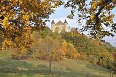 Feuilles d'or (thomaspollin [thanks for 1.3 million views !!!]) Tags: autumn france castle automne frankreich europa europe thomas herbst chteau burg ain pollin culoz rhnealpes bugey grandcolombier mywinners thomaspollin bugiste montvran chteaudemontvran
