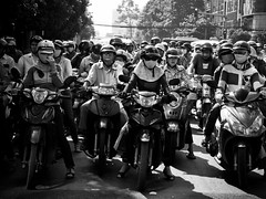 The Motorbike Troopers of Doom, Ho Chi Minh City (adde adesokan) Tags: street travel people pen photography asia streetphotography documentary olympus vietnam ep3 streetphotographer m43 mft mirrorless microfourthirds theblackstar mirrorlesscamera streettogs addeadesokan