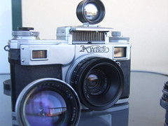 Kiev 4 & Jupiter-3 & J8 & J12  lenses-6521 (THE OLYMPUS CAMERAS COLLECTOR) Tags: rangefinder filmcamera kiev4a jupiter1235mmf28 jupiter350mmf15 camerasphotos