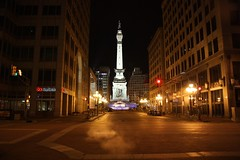Heading Toward Monument Circle - Indianapolis (f//stop) Tags: canonefs1755mmf28isusm