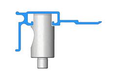 Altered Pedestal Die (UniPunch) Tags: aluminum die pedestal extrusion unipunch