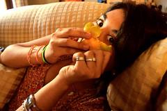 mascarillina (Noem Slee) Tags: vanessa fruits lima little sister fruta mendoza hide tatiana sanchez ximena snche
