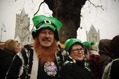 Nice Swedish couple (Rob Hurson) Tags: ireland dublin pentax parade paddysday stpatricksfestival pattysday pentaxk30 samsung1224f4 stpatricksday2014