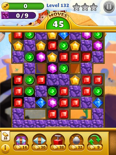 Jewel Mania Gameplay, Heads-Up Display: screenshots, UI