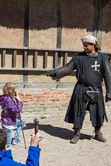knighting (hans s) Tags: medieval knight archeon 2016