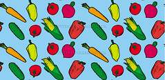 vegetables vector seamless pattern (Gal'ko) Tags: wallpaper food plant green texture nature kitchen illustration garden tomato menu recipe pepper design salad vegan spring healthy corn colorful pattern natural farm background cartoon bio vegetable fresh health fabric vegetarian carrot backdrop organic diet chilli agriculture product radish eco vector seamless ripe handdrawn chilipepper ingredient vitamin springonion preparefood
