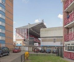 boleyn ground 2016 (chrisdb1) Tags: street london public composite architecture modern landscape football nikon artist cityscape power phone estate time stadium soccer archive streetlife ground demolition east revolution knowledge civic blocks joiner municipal desolation eastend d800 eastham dystopia hammers socialclub plaistow photorealism londonist westham newham boleyn chrisdorleybrown claretblue