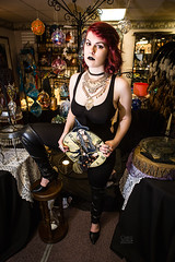 Witchcraft (Chris Adval) Tags: witch redhair lastolite environmentalportrait