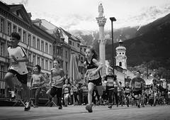run (Erwin Vindl) Tags: blackandwhite bw monochrome candid streetphotography run innsbruck streettogs erwinvindl olympusomd em10markii