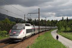 TGV 74 en direction du 74 ! (Maxime Espinoza) Tags: paris annecy les train se grande chambry savoie 74 pse tgv aix sud est haute sncf bains vitesse tresserve carmillon