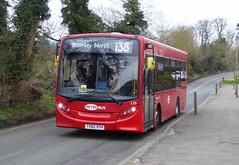 GAL MB 179 - YX62DYH - NSF - LAYHAMS ROAD - TUE 15TH MAR 2016 (Bexleybus) Tags: road london ahead hall go 200 dennis coney 179 enviro metrobus adl orpington goahead layhams yx62dyh