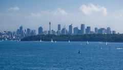 Sydney CBD from Watsons Bay