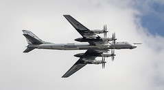 Tupolev Tu-95 (S.L.R) Tags: russia moscow victory parade airforce russian tupolev 2016 tu95