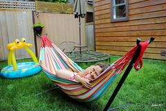 Summer leisure (Samir D) Tags: summer people woman canada 35mm canon eos highland hammock northamerica 5d leisure northvancouver judi 2016 markiii 35mm14 samird