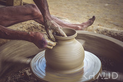 Potter II (iamkih) Tags: wheel rural village potter lifestyle clay workshop worker bangladesh