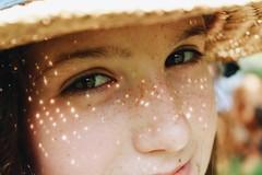 (esmhs) Tags: light summer portrait sunlight eyes warm freckles lightspots