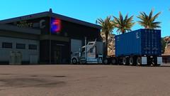 KENWORT W900 - The Pork Chop Express (Pumizo TIR) Tags: truck pork american chop express simulator ats kenworth w900