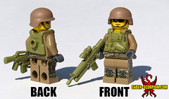 The Scorpion Commando (Saber-Scorpion) Tags: soldier army lego military scorpion minifig commando usarmy moc minifigures brickarms