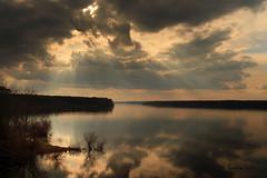 Company of Strangers (Explored) (Ramen Saha) Tags: clouds sunburst highdynamicrange crepuscularrays hopevalley jordanlake sunraysthroughclouds manuallyblendedhdr ramensaha