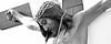 Cristo del Amparo de Saceda Trassierra (Cuenca) (Carlos González López (carlosfoto.es)) Tags: blancoynegro retrato panoramica favorita figuracion