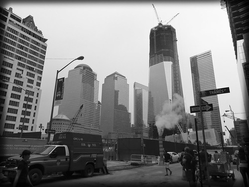 ABC (Alphabet By Camera) #25-Y: YARD (CANTIERE) (GROUND ZERO NY)