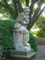 Royal Botanic Gardens, Sydney (pellethepoet) Tags: boy sculpture statue gardens sydney australia newsouthwales publicart botanicalgardens royalbotanicgardens garon savoyard petitramoneur sweepboy savoyardsweepboy