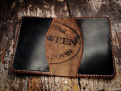 Cordovan card case (Hollows Leather) Tags: leather hand handmade shell made handcrafted hollows crafted cordovan horween
